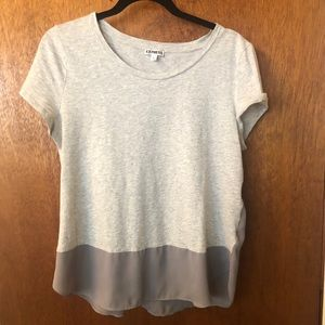 Grey T-shirt/blouse
